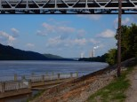 Power plan up the river from the Maysville/Aberdeen bridge.