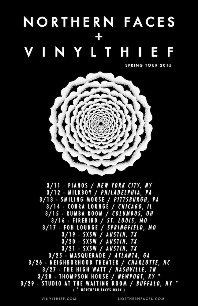Northern Faces And Vinyl Thief Co Headline Tour In March