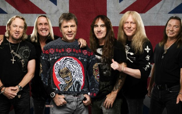 Iron Maiden Releases Their Ugly Christmas Sweater Ghost Cult Magazine