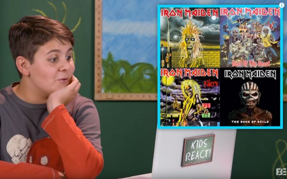 Kids React To Iron Maiden | Ghost Cult Magazine