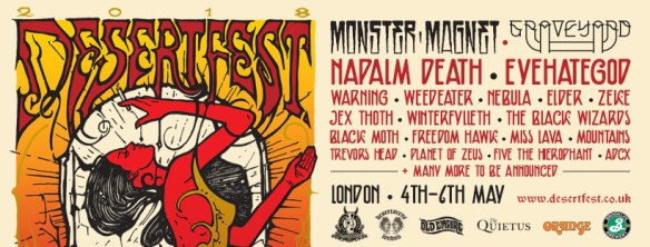 Warning About Death Of Freedom From >> Napalm Death Warning Winterfylleth Added To Desertfest 2018