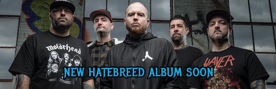 HATEBREED NEW ALBUM SOON