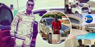 Photos detail Asamoah Gyan's millionaire lifestyle of luxurious cars and powerful mansions-It all looks like a tourist attraction
