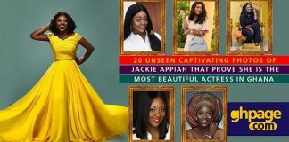 20 Unseen captivating photos of Jackie Appiah that prove she is the most beautiful actress in Ghana