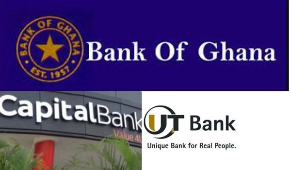 UT Bank And Capital Bank Taken Over By GCB