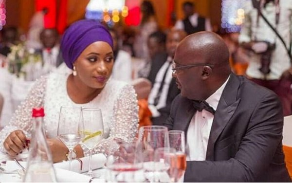 Sweet Birthday Wish From Dr. Bawumia To Samira Bawumia