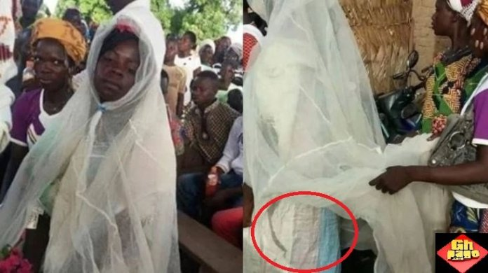 Bride Mosquito Net Bag Rice Sack Wedding Gown