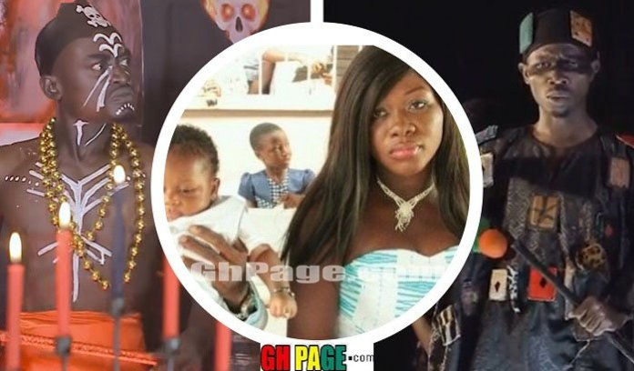 Kwadwo Nkansah Lil Win's fetish Priest, Top Kay Threatened to Strike me down because of our marital differences — Patricia Afriyie, Lil Win's Wife