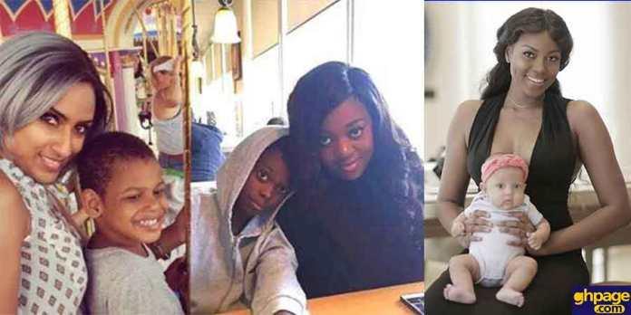 15 Ghanaian celebrities and their cute kids (Photos)