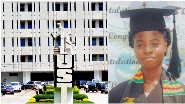The 13-Year-Old Girl Admitted Into KNUST