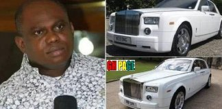 PHOTOS: Nigerian Renown Pastor Rejects Rolls Royce Birthday gift