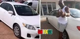 Bola Ray buys a brand new Toyota Corolla Saloon Car for Bukom Banku [Photos]