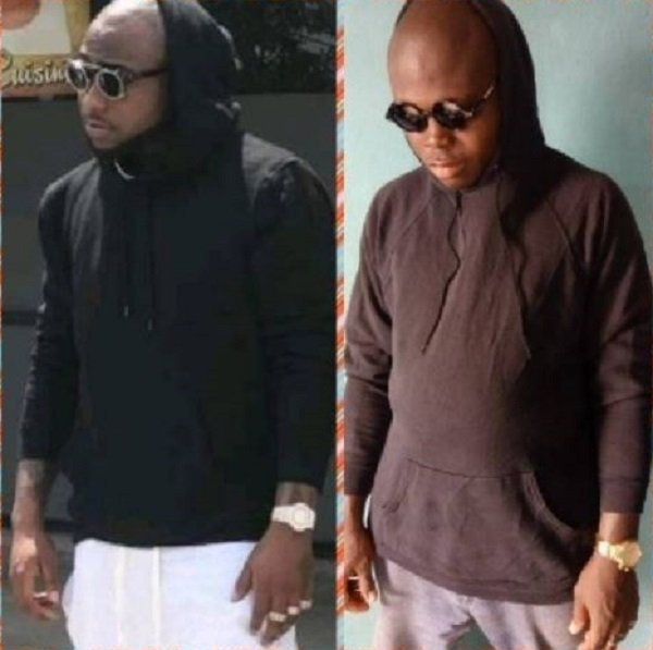 Meet the obsessed fan of Davido who has recreated most of his photos
