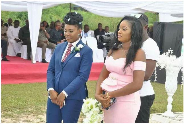 Female Best Man Wedding