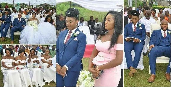 Female Best Man Steals The Show At Her Brother's Wedding