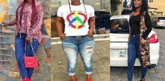 Nigerian Female Soldier - Porch Armygirl