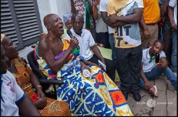 Ex-President Mahama Paid A Courtesy Visit To Actor Super OD