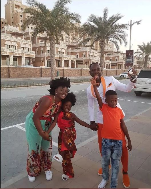 Okyeame Kwame Enjoys Holidays With His Beautiful Family In Korea