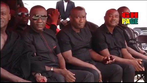 Video:Dr Osei Kwame Despite and Ofori Sarpong Donate To KABA's family