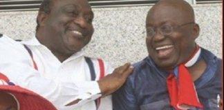 $100k For Presidential Seat; Nana Akufo Addo Clears Alan K. Kyeremateng