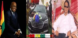 "Kantanka Vehicle Blows Alarm On Nana Addo, Calls Him A ""Thief"""