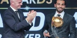 Mohamed Salah Wins 2017 African Player Of The Year Award