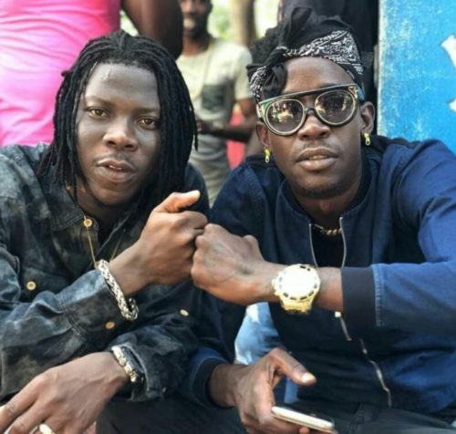 Stonebwoy and Sean Paul do the 'Dutty' Dance for 'Most Original