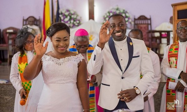 Here are all the Unseen Official PHOTOS from UTV's Ama Sarpong Kumankuma Aka Alagege's Wedding