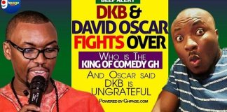 Video: DKB and Oscar fights over who's the king of Gh comedy