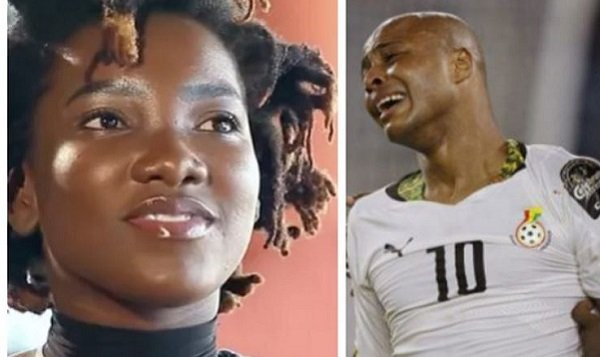 Football Star Dede Ayew Pay Emotional Tribute To Ebony Reigns