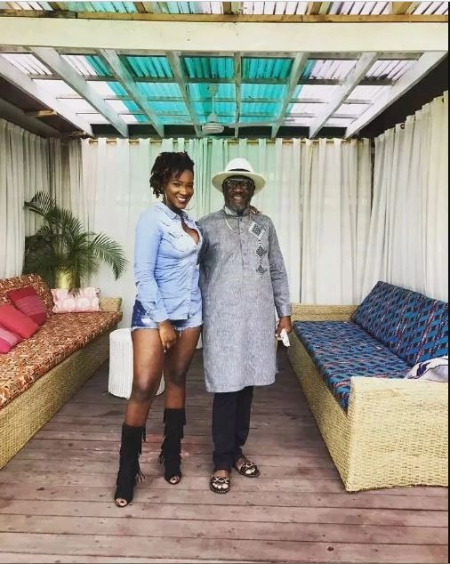 Here are 5 HeartBreaking Photos That Prove That Ebony Was Everything Her Dad Have In Life