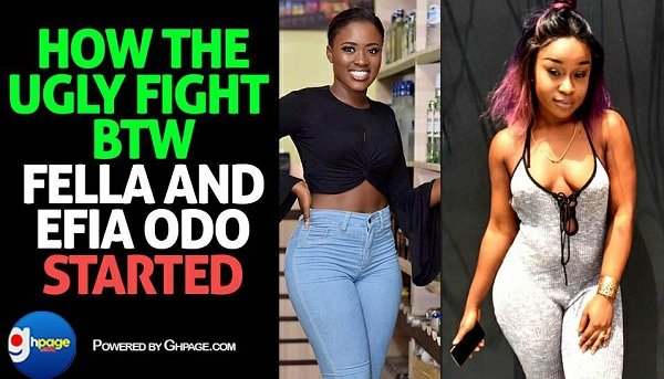 The Genesis: This Is How Fella Makafui And Efia Odo's Ugly Beef Started [Details + All Videos]