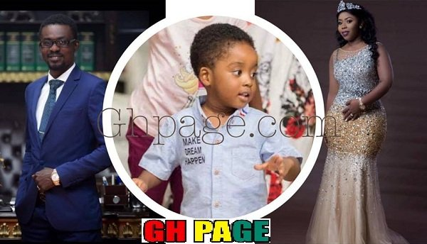 Unveiled: Here are the Unseen PHOTOS of the pretty Wife & Son of Nana Appiah Mensah, Zylofon boss