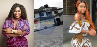 Sista Afia Flaunts Her $2 Million Dollar Mansion To Mock Efia Odo's Unpainted Building(Video)