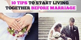 10 Tips to Start Living Together before Marriage