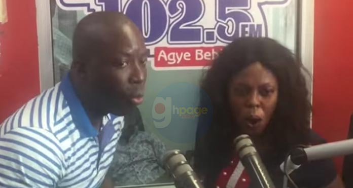 """Video: """"You have become a big disgrace in this country"""" - Kumchacha blasts Afia Schwarzenegger in a heat exchange of words"""
