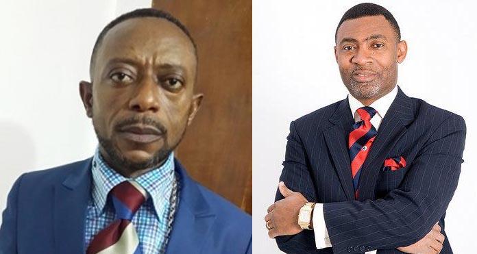 Hot Video: Dr Lawrence Tetteh embarrasses Rev.Owusu Bempah At Ebony's Funeral (Video)