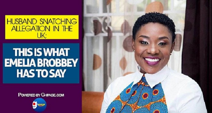 Husband Snatching Allegation In The UK; This Is What Emelia Brobbey Has To Say
