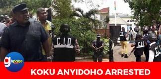 Breaking News: NDC's Koku Anyidoho arrested over Akufo-Addo coup comment
