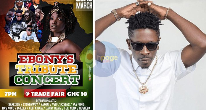 "Shatta Wale ""Fingered"" As The Hypocrite Artist Who's Requesting Money To Perform At Ebony's Tribute Concert"