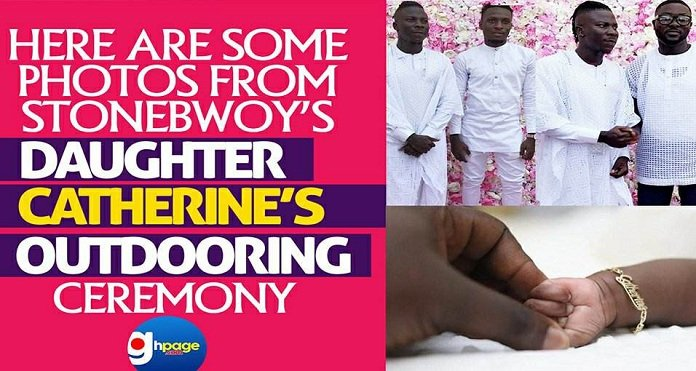 Here Are Some Photos From Stonebwoy's Daughter, Catherine's Outdooring Ceremony