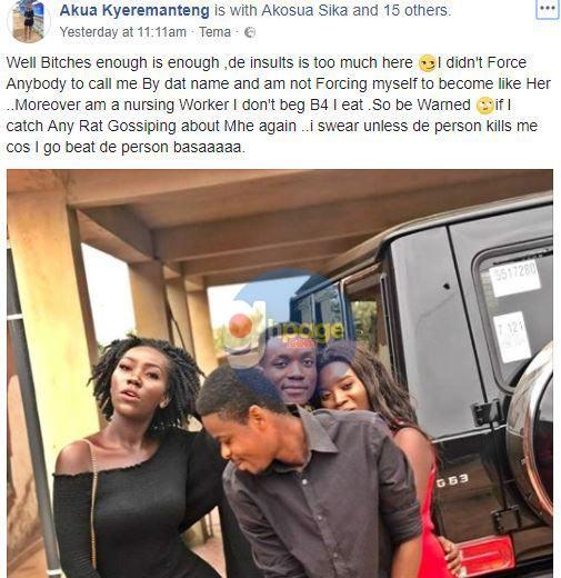 'I Will Beat Anyone Who Insults Me' – Ebony's Look-Alike warns