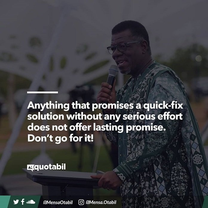 34 Inspirational Quotes By Pastor Mensa Otabil Every Ghanaian Needs To Live By
