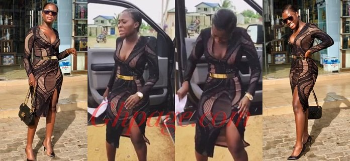 Fella Makafui Dancing Her Heart Out On The Street Is The Most Beautiful Video On The Internet Now [Watch]