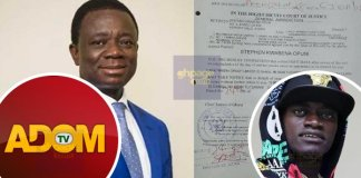 Former COCOBOD CEO Dr. Stephen Opuni Drags Multimedia Group, Actor Lilwin To Court For Defamation