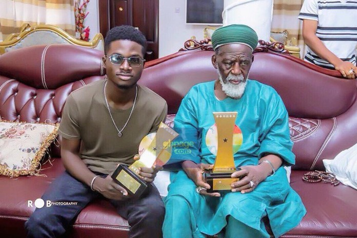 Image result for the national chief imam with kuami eugene