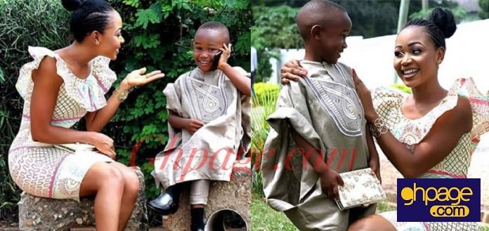 Here are some beautiful photos of Rosemond Brown's young son