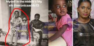 This Old Photos Of Sarkodie And His Big Sister Will Surely Give You Hope Never To Give Up In Life