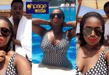 Photos: YOLO Actress, Serwaa Opoku Addo Looking Stunning As She Goes Swimming With Boyfriend