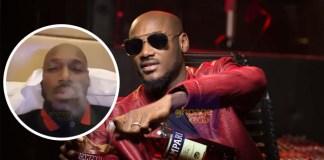 Video: Nigerian Singer 2Face( 2Baba ) Smokes Marijuana Live On Camera